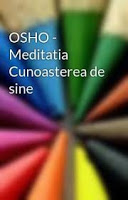 Meditatia Cunoasterea De Sine